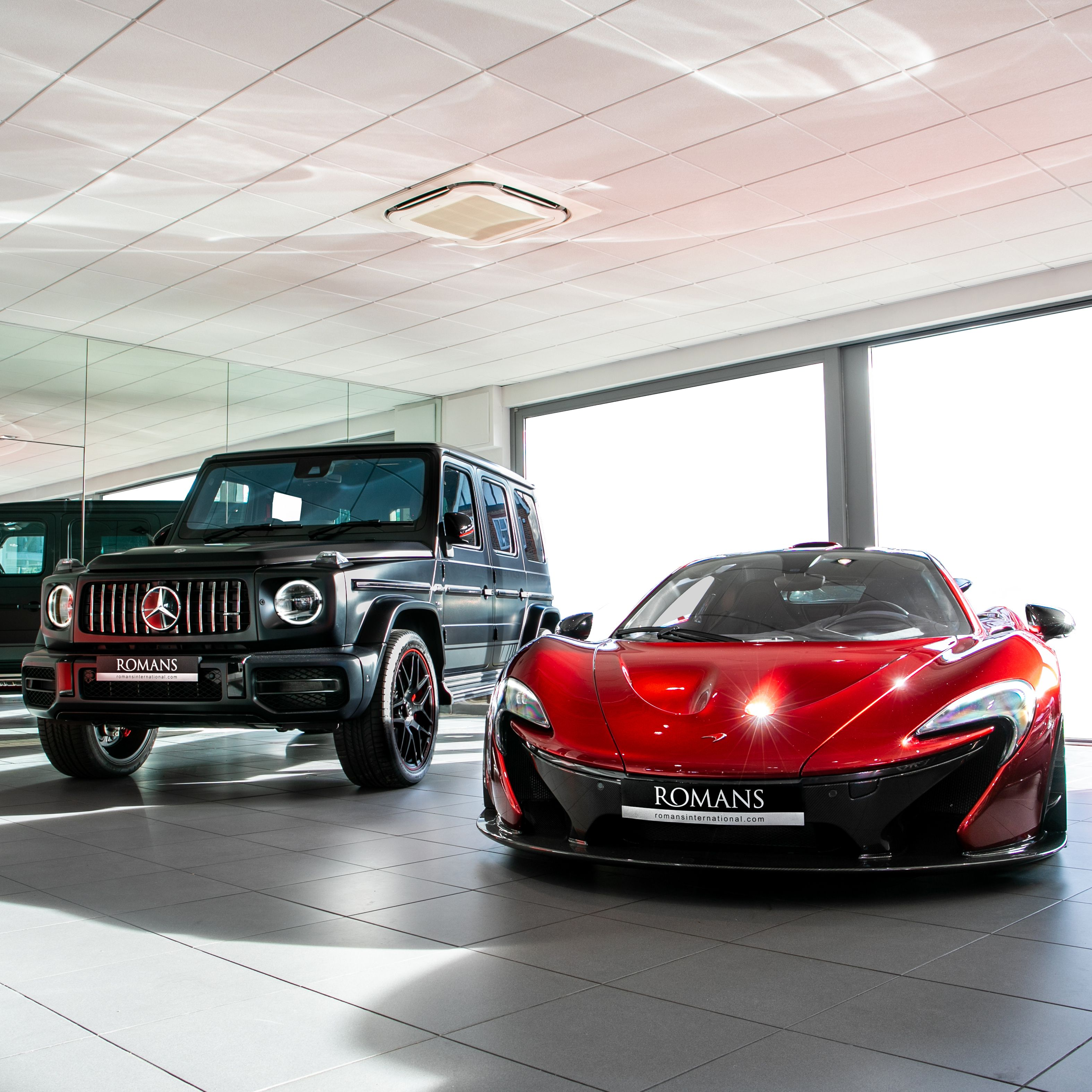 David VS Goliath #McLaren #P1 #MercedesAMG #G63 #G63AMG