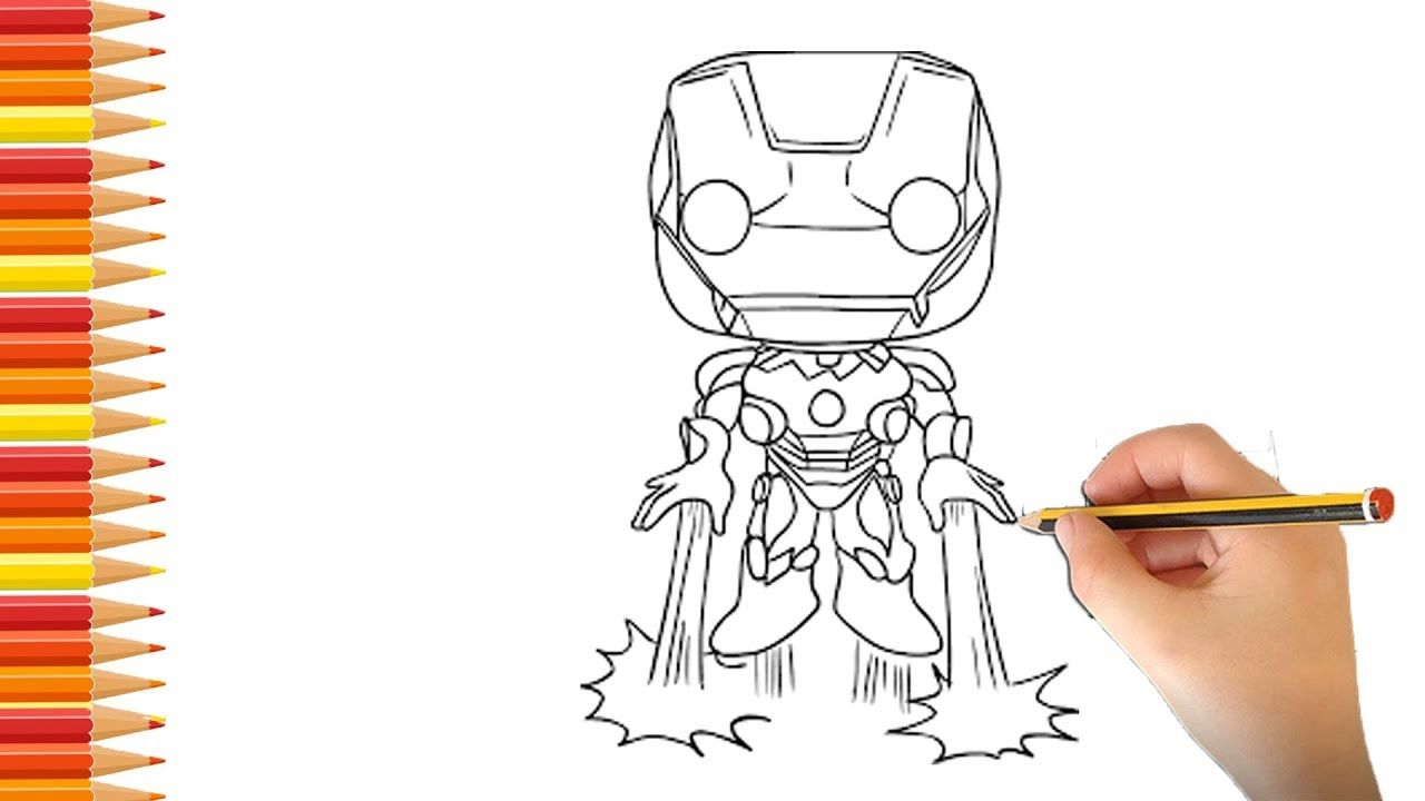 How To Drawing Iron Man Ep3 Learn Drawing Painting Iron Man Mrr Co Iron Man Hand Hand Painted Learn To Draw