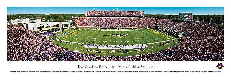 East Carolina University Pirates Dowdy Ficklen Stadium Panoramic Picture 29 95 East Carolina University Stadium Panoramic Pictures
