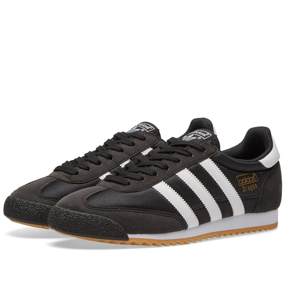 super popular 8a3dd 4a620 Adidas Dragon OG (Core Black   White)