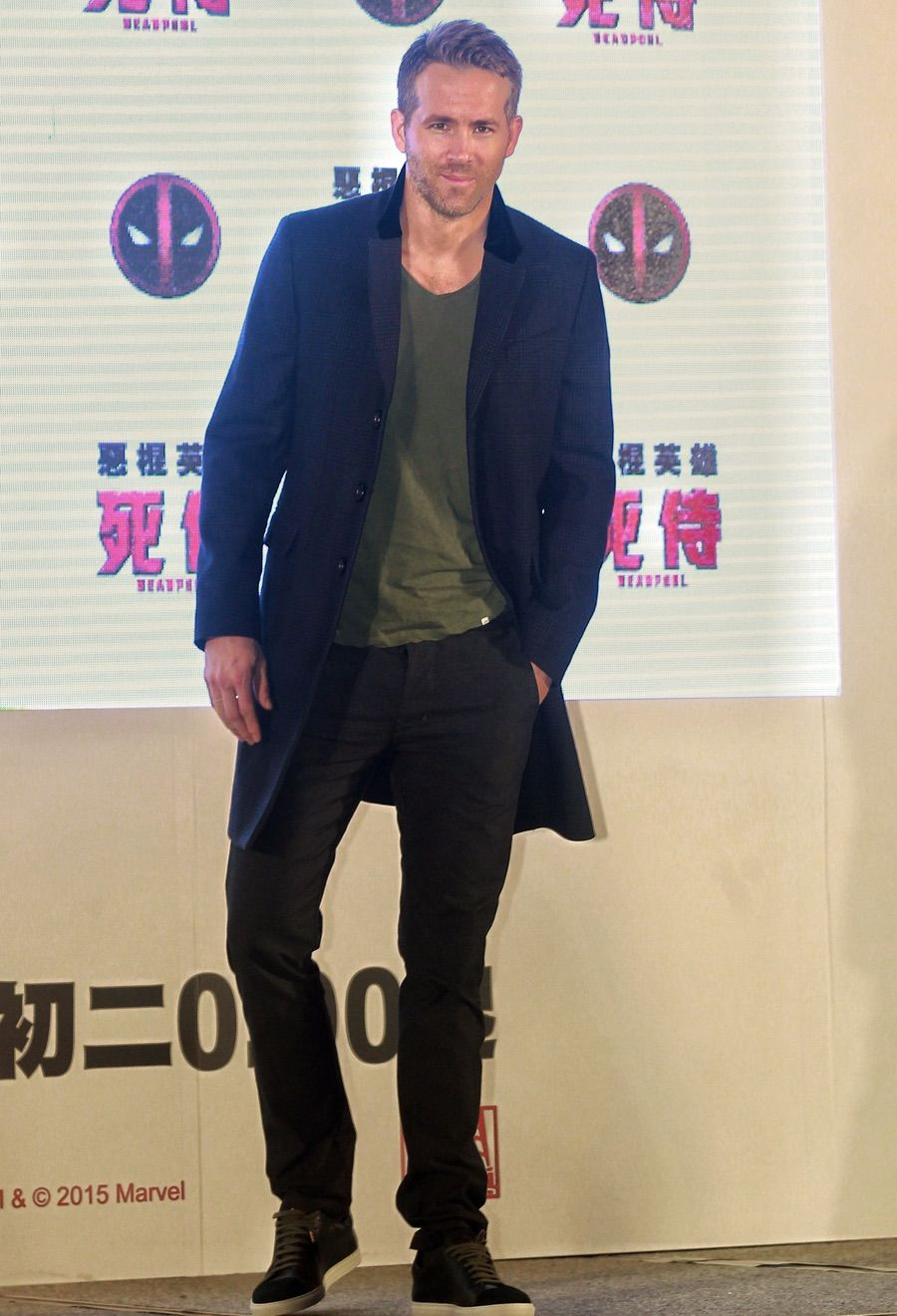 Visiting Taipei Taiwan On January 22 2016 Ryan Reynolds Touched