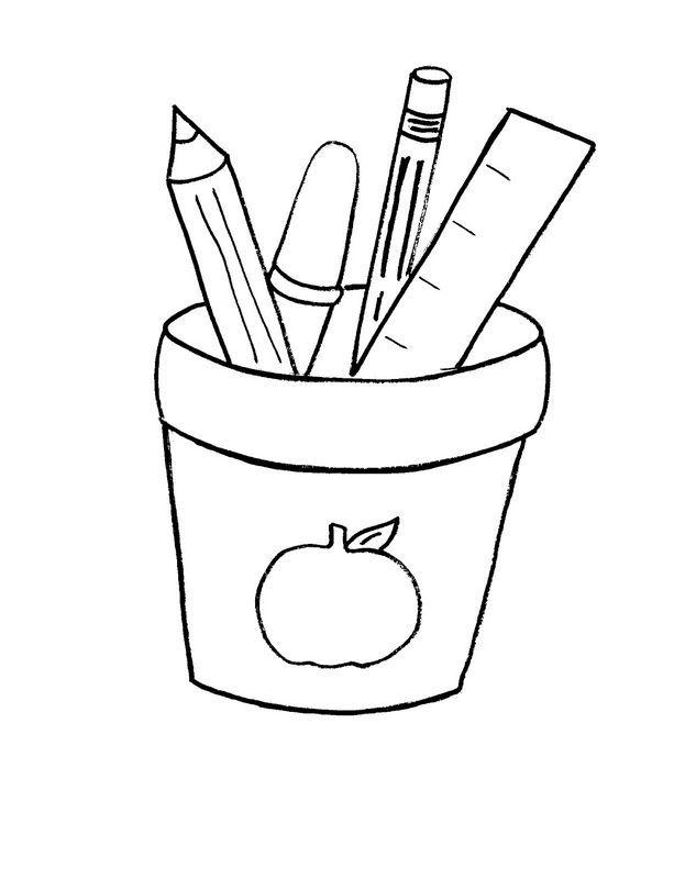 ausmalbild Auf dem Tisch von Kindern | Coloring | Pinterest