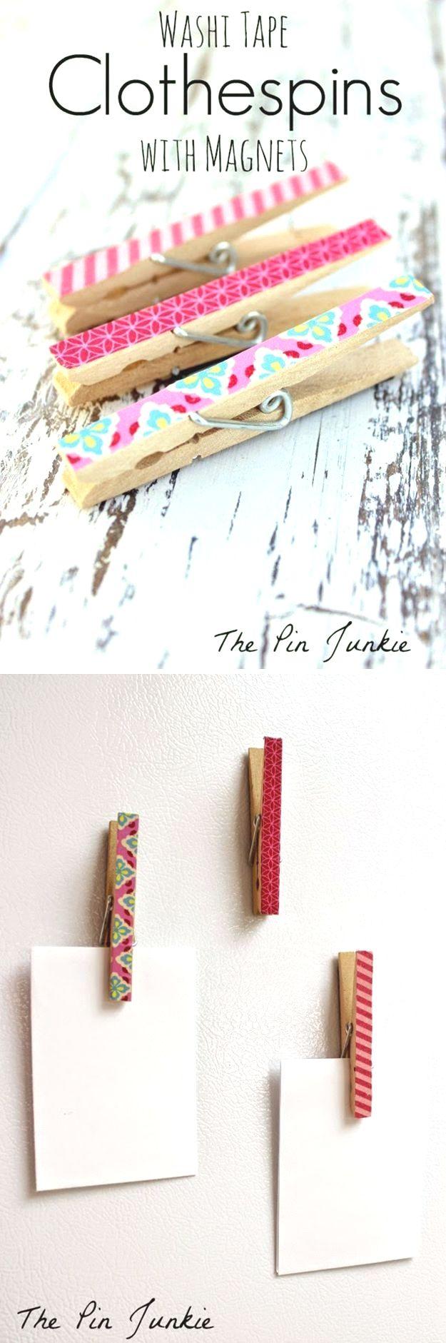 Pin by Larissa Henecke on DIY | Tape crafts, Easy diy crafts