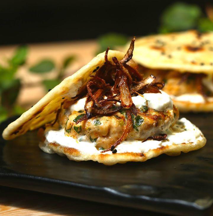 Indian Chicken Burger Yfl Yourfoodlab Chef Sanjyotkeer Fusion