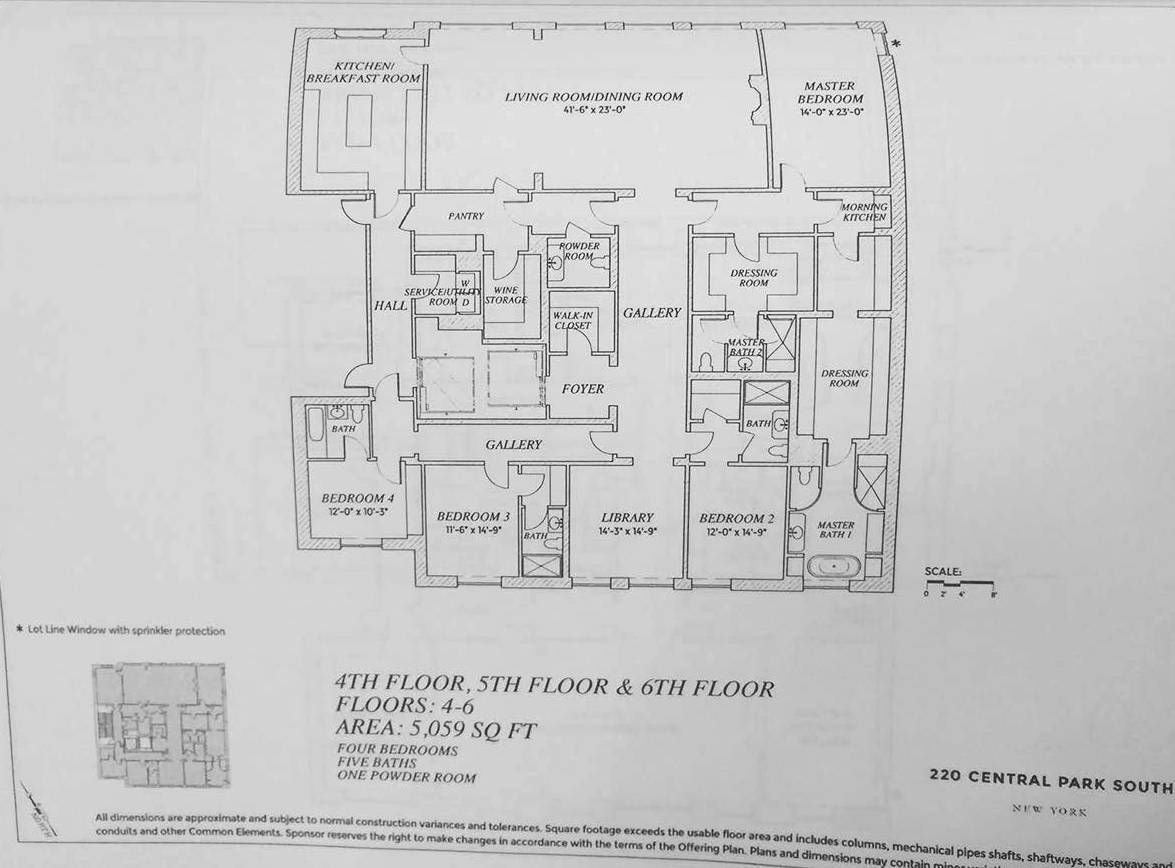 220 Central Park South Planos Villa With Images Floor Plans