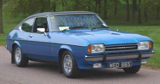 1974 – 1978 Ford Capri II Ghia. Classic German Ford cars & hard to find for sale…