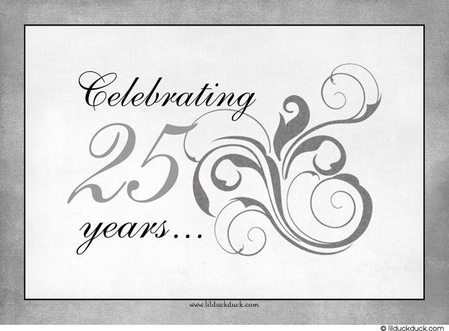 359322410c1d4865858921a0979b0082 pin by shauna smith on 25 anniv ideas pinterest 25th,25th Wedding Anniversary Invitation Ideas