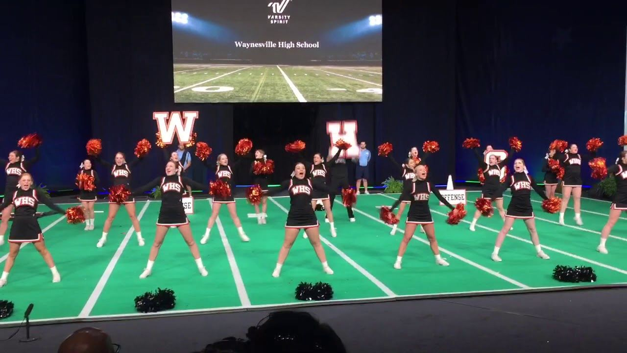 Waynesville High School National Champions Gameday 2 11 2018 Youtube National Champions High School Cheer Waynesville
