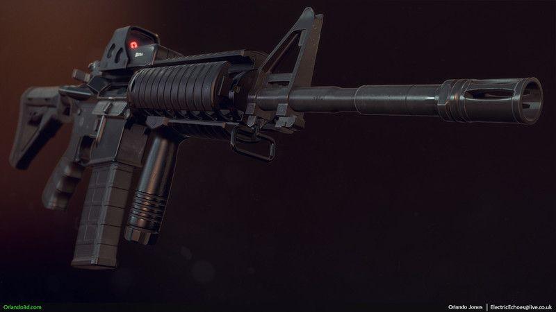 M4 Carbine by Orlando Jones