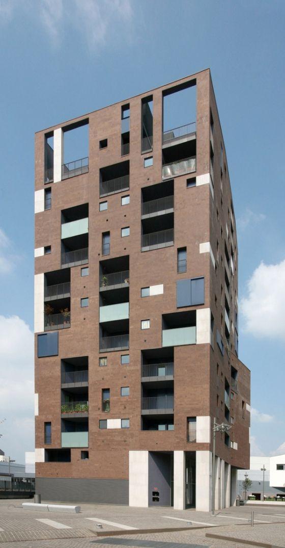Edilizia residenziale convenzionata in linea, Nuovo Portello Milano – 2002