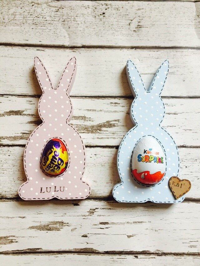 A Personal Favourite From My Etsy Shop Https Www Etsy Com Uk Listing 508731631 Wooden Egg Hol Easter Crafts Easter Bunny Decorations Easter Craft Decorations