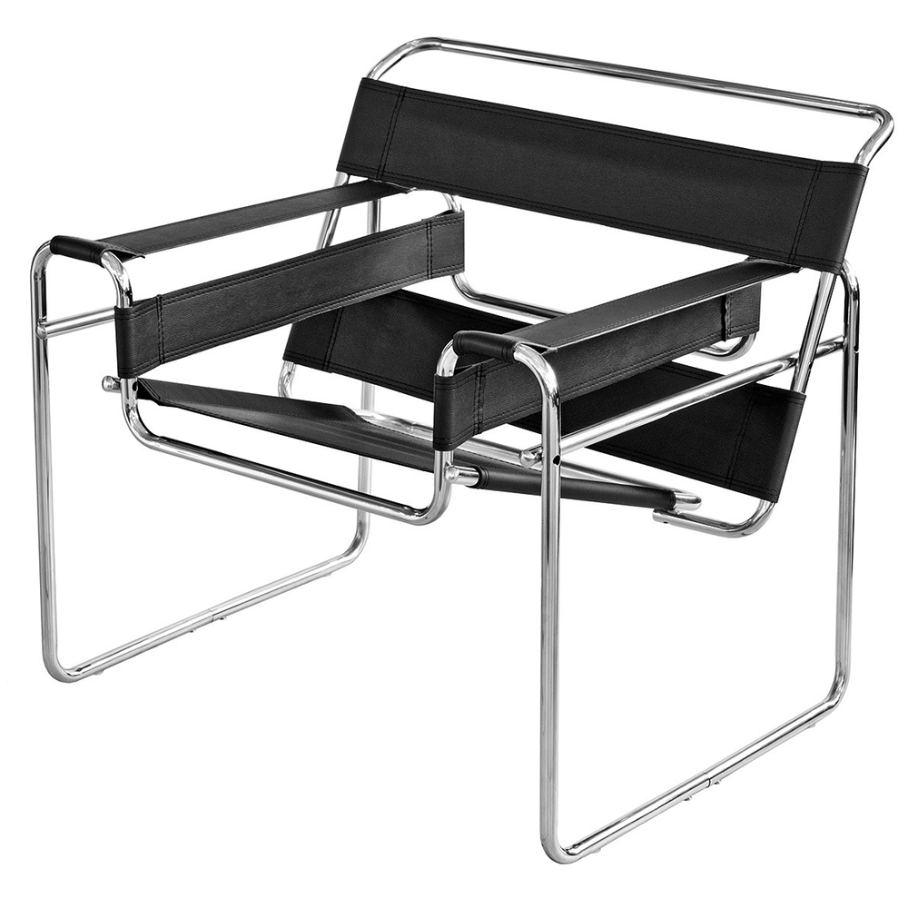 1920's Marcel Breuer style Wassily Leisure Chair www