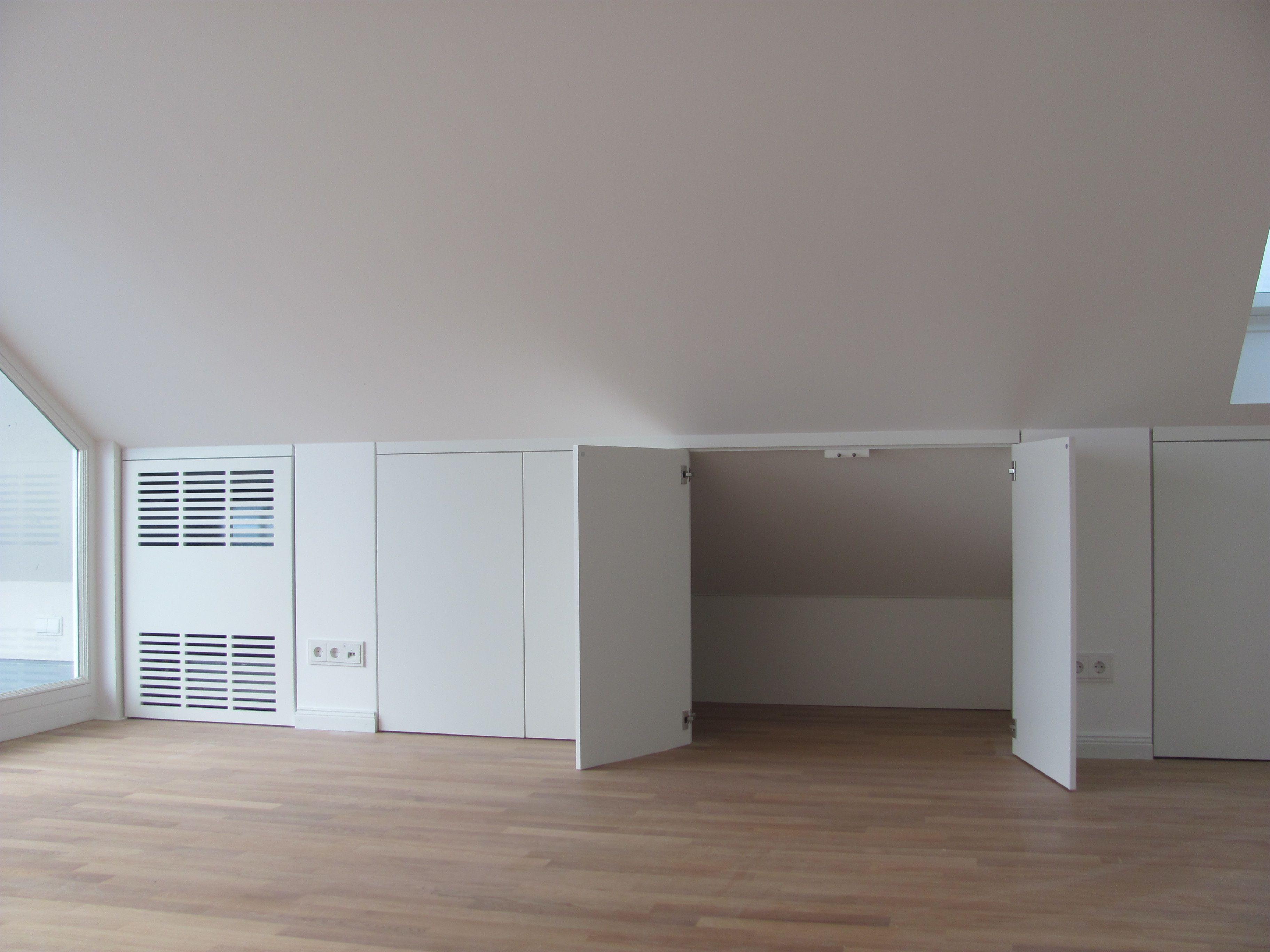 stauraum unter der dachschr ge schreinerei bund ava pinterest dachschr ge stauraum und. Black Bedroom Furniture Sets. Home Design Ideas
