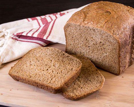 High Fiber Bran Loaf For 2 Lb Breadmaker Oatmeal Bread