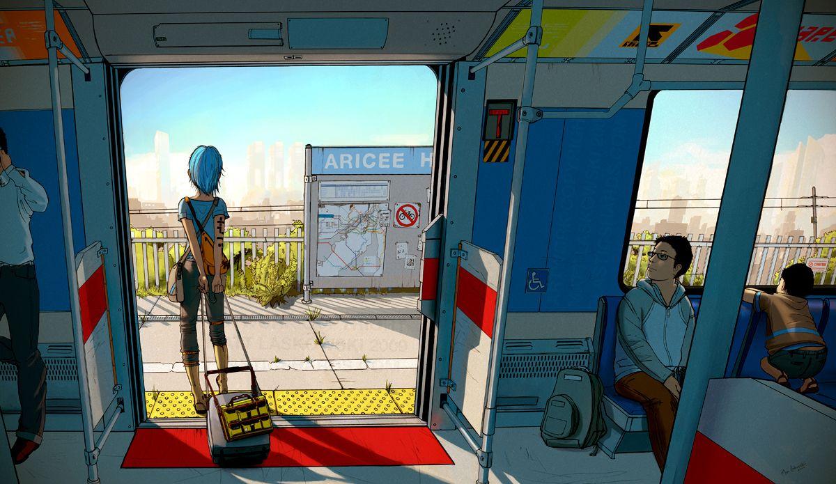 Now Arriving, by Matt Laskowski