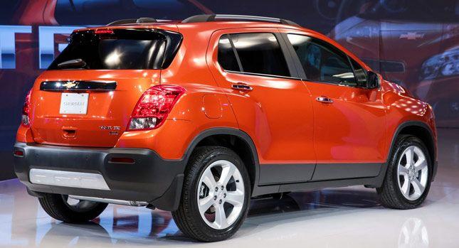 Chevrolet Trax 2015 Chevrolet Trax Subcompact Suv Chevrolet