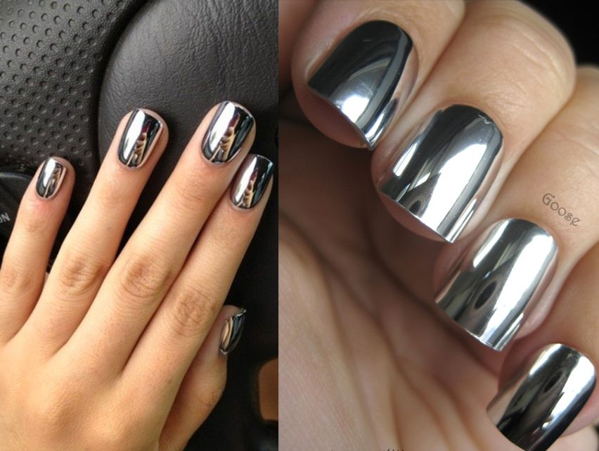 uñas espejo   uñas   Pinterest   Makeup, Manicure and Nail stuff