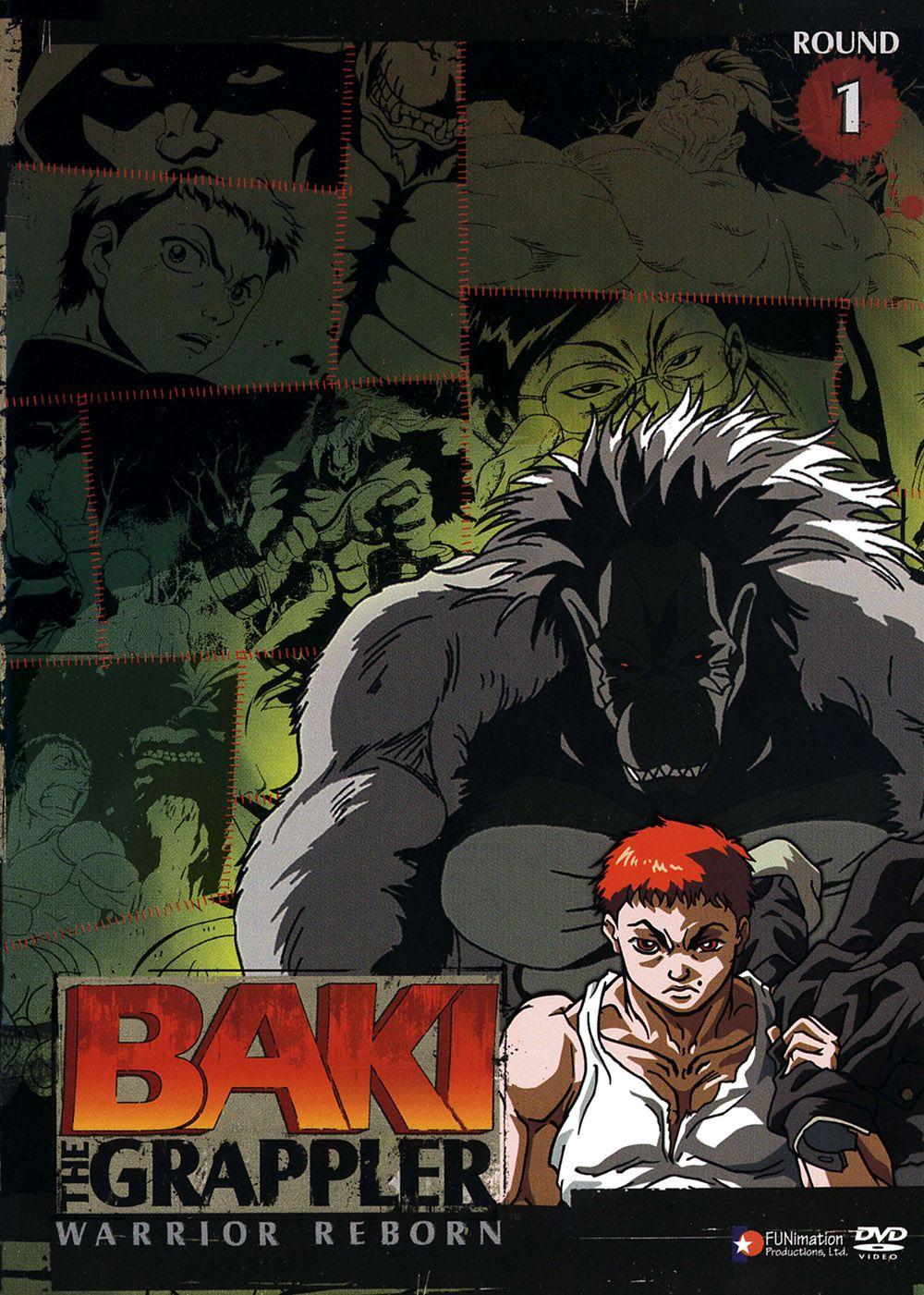 グラップラー刃牙 // Grappler Baki Anime, Grappler, Anime episodes