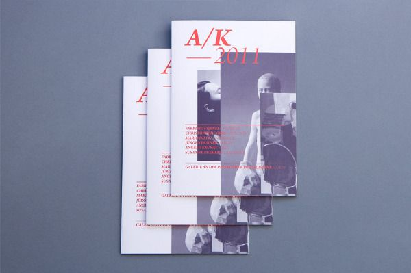 Carte Blanche Design Studio  Brochure For Pinakothek Der Moderne