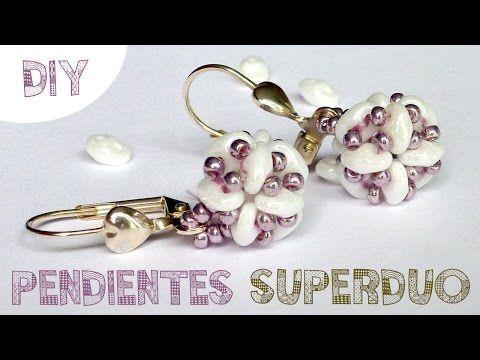DIY PENDIENTES SUPERDUO MIYUKI ♥ Qué cositas. Link download…