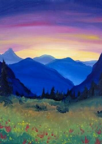 Mountain Landscape Paintings Mountain Paintings Painting