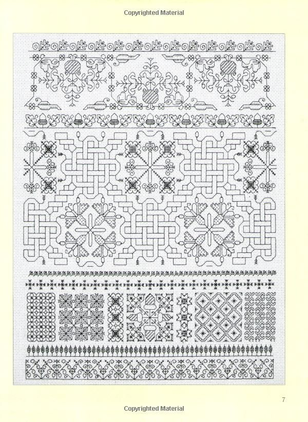 Beginner S Guide To Blackwork Lesley Wilkins 0693508000391 Amazon Com Books