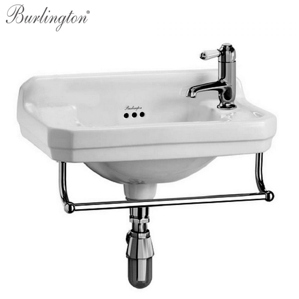 Burlington Edwardian Cloakroom Basin | Cloakroom basin, Basin and Sinks