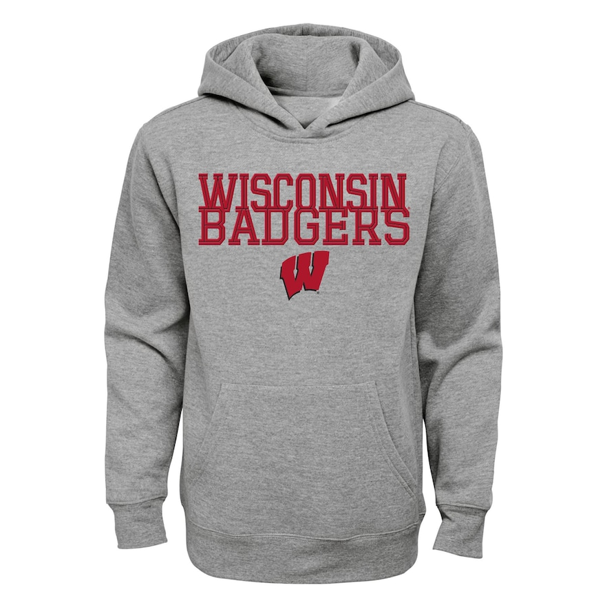 info for c786d 0b184 Boys 8-20 Wisconsin Badgers Overlap Hoodie | Products in ...