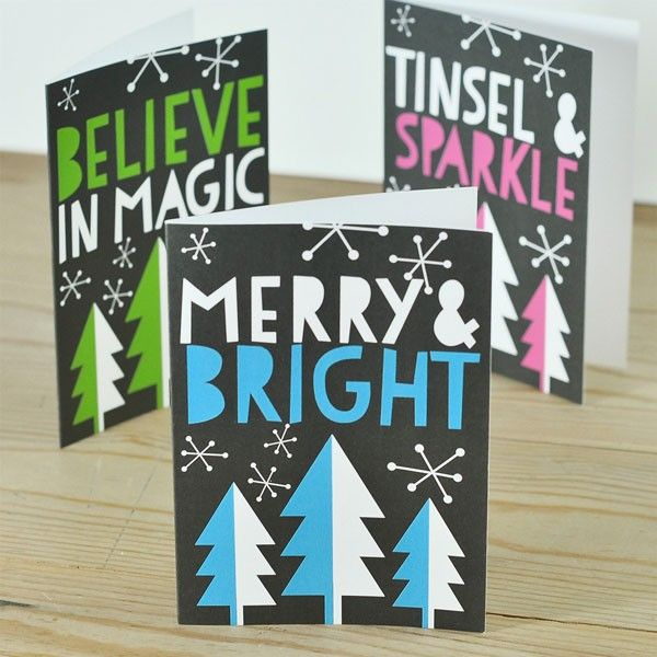 How to Write a Fabulous Christmas Card Invitations + Stationery