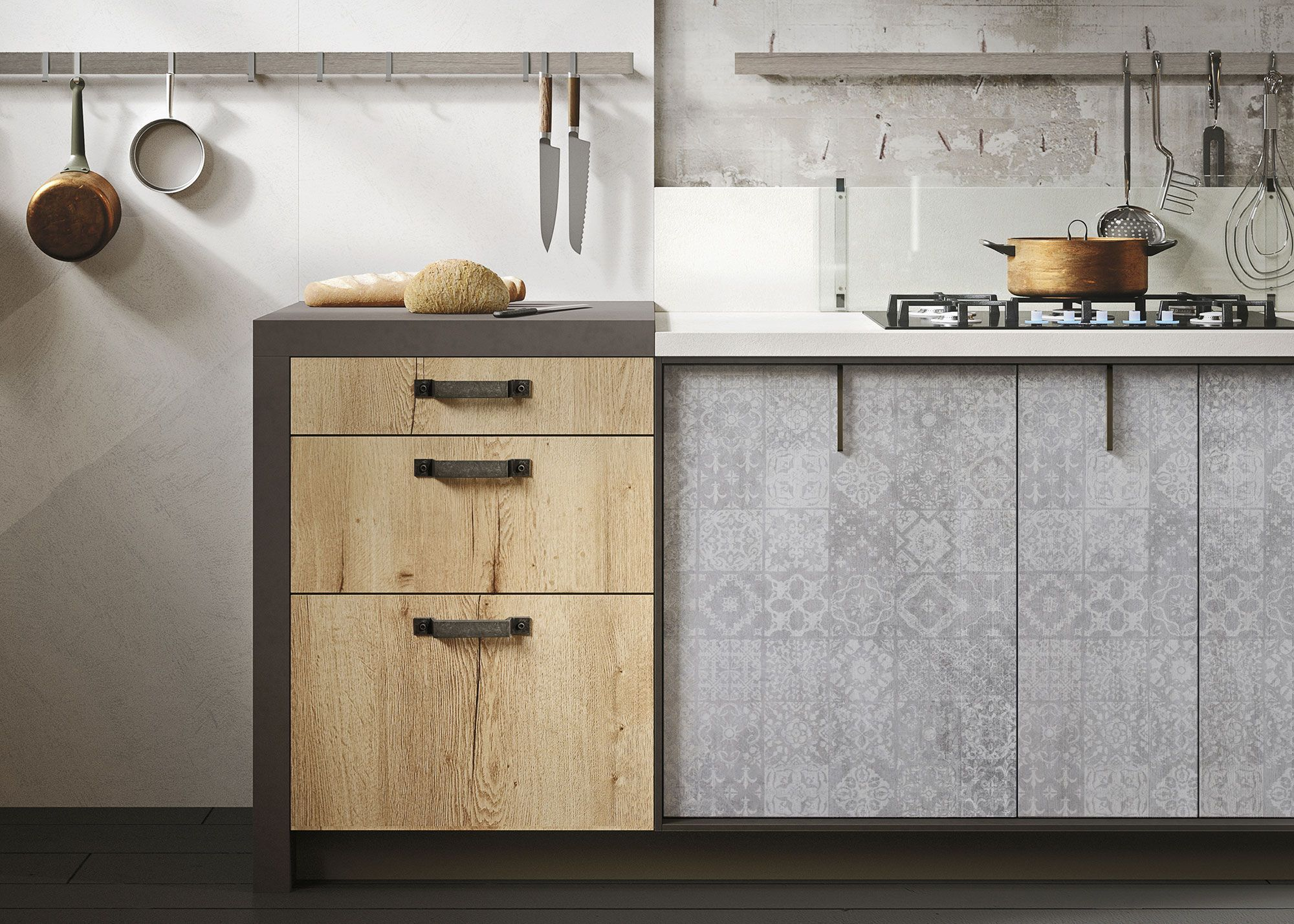 Snaidero Loft Kitchen 6 Urban Industrial Decor Industrial Decor Industrial Apartment Decor