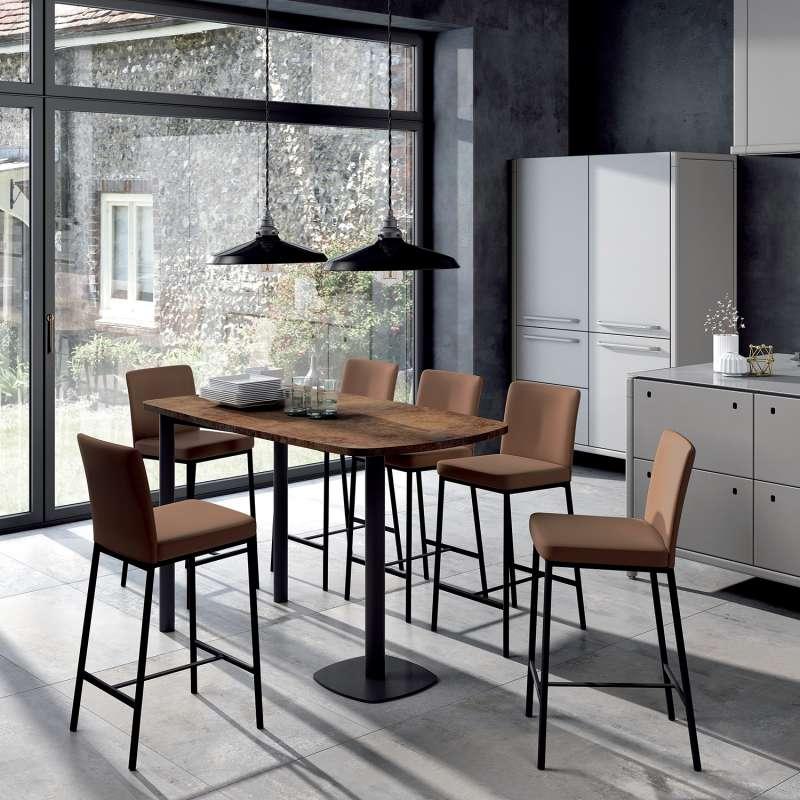 Table Haute De Cuisine Pour Une Cuisine Tendance Cuisine Decocuisine Decorationinterieure Homedesign Cuisinemoderne Interio Table Home Decor Dining Table