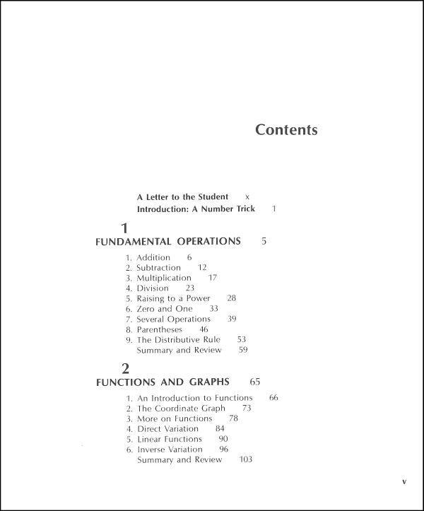 Elementary algebra jacobs student textbook table of contents elementary algebra jacobs student textbook table of contents fandeluxe Image collections