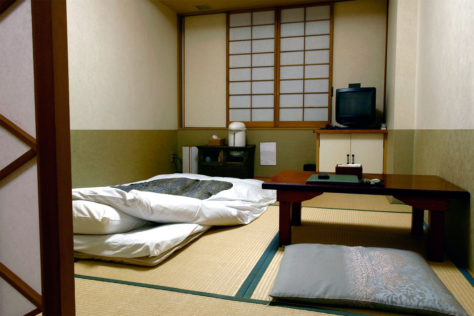 Average Tatami Room Traditional Japanese House
