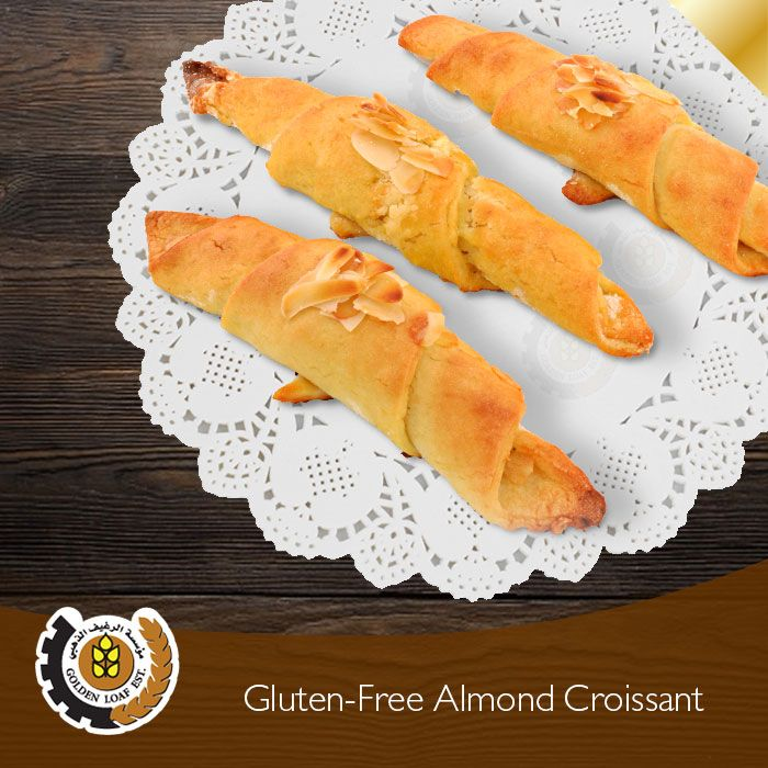 Golden Loaf Est on Almond croissant, Hot dog buns, Croissant