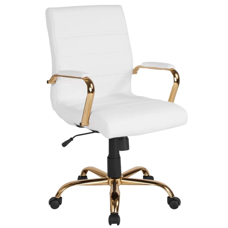 Leaman Ergonomic Executive Chair In 2021 White Office Chair Leather Office Chair Modern Office Chair