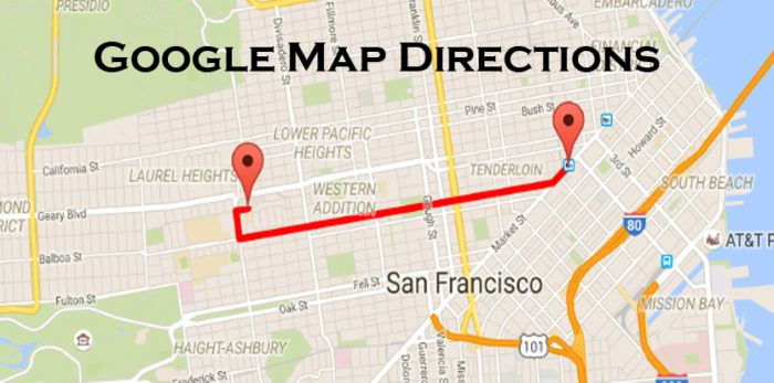 Google Map Directions Google Map App Google maps app