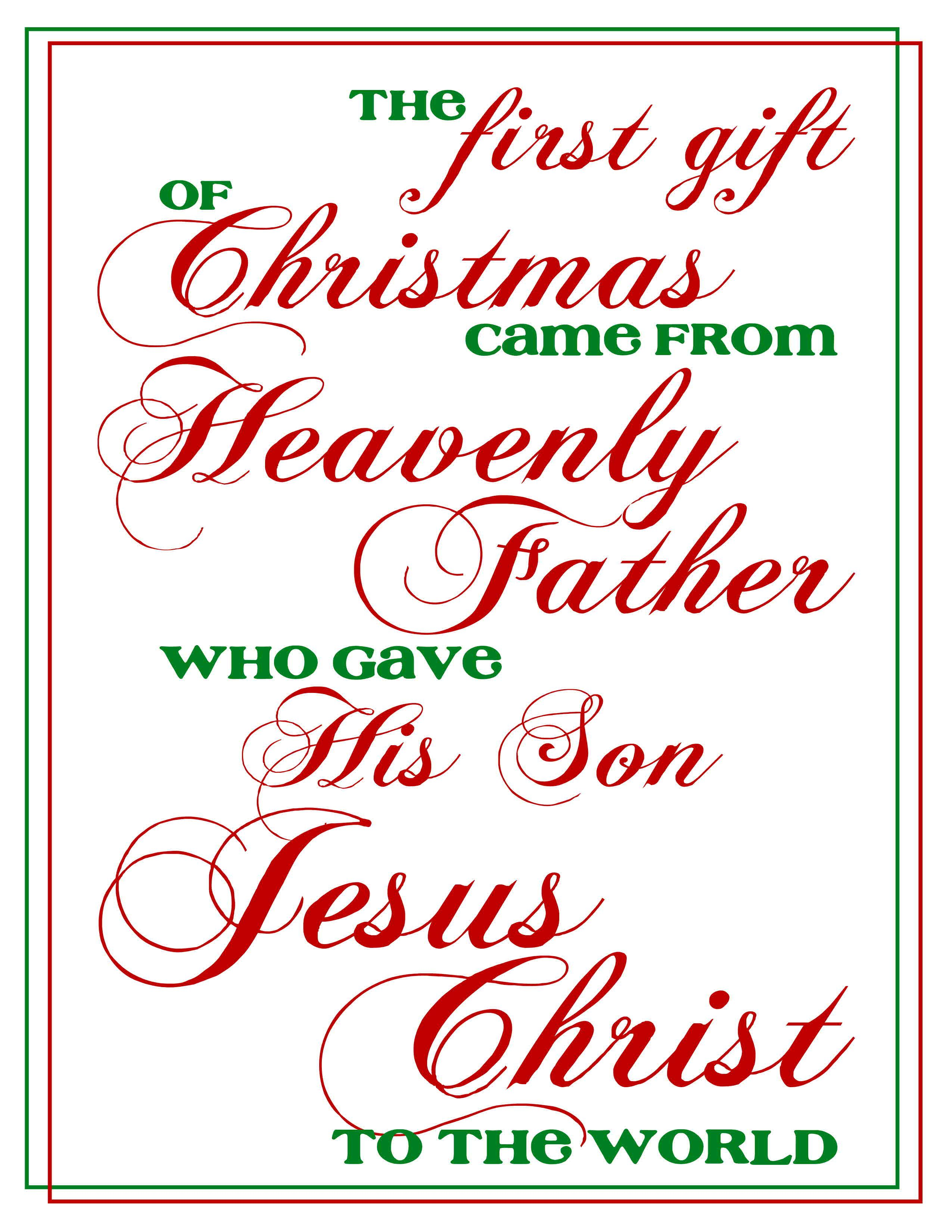 Quote From Lds First Presidency Christmas Email Sharethegift