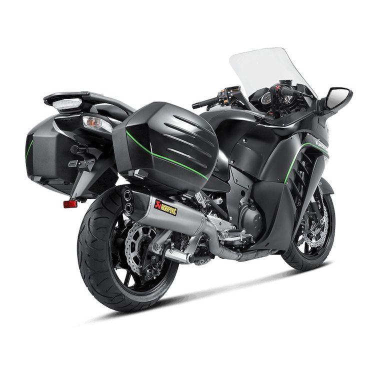 Akrapovic Slip On Exhaust Kawasaki Concours 14 2008 2021 10 99 70 Off Revzilla Kawasaki Revzilla Scrambler Motorcycle