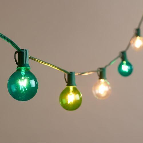 Seaside Colored Bulb String Lights World Marketstring Outdooroutdoor