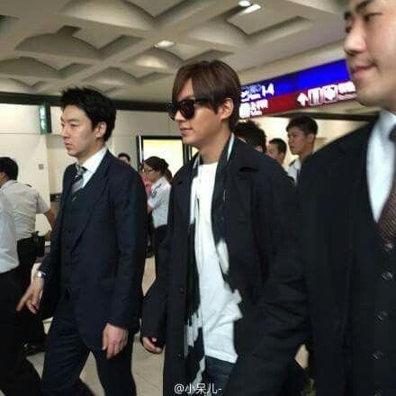 Mi amor en el aeropuerto de Hong Kong de camino a Korea