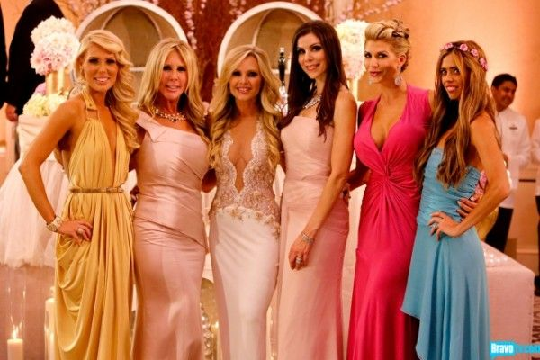 Tamras Oc Wedding Housewives Of Group Photo