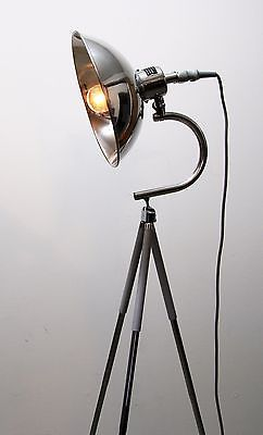Vintage Tripod Steh Tisch Arbeits Arzt Lampe Foto Stativ Vintage Bauhaus Industrie Retro