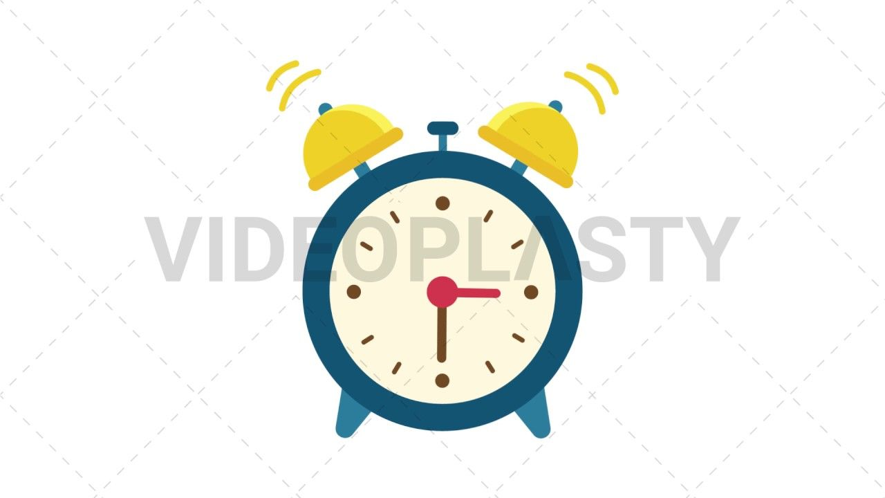 Download Http Ift Tt 2pwpysu Blue Alarm Clock With Golden Bells Going Off And Ringing Includes 3 Different Version With Images Character Actions Clock Animated Icons