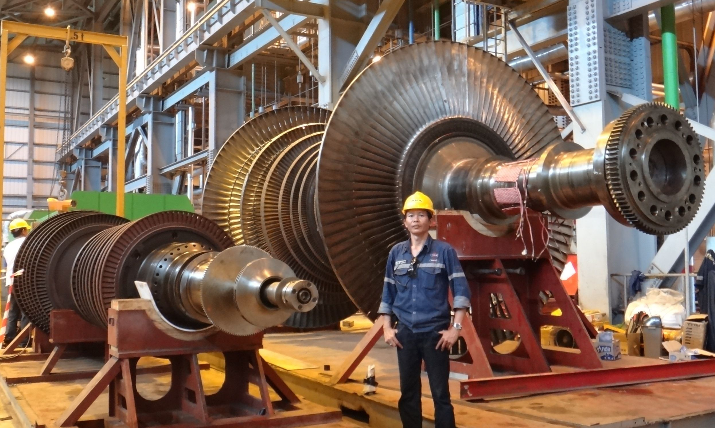 300MW Steam Turbine Overhaul