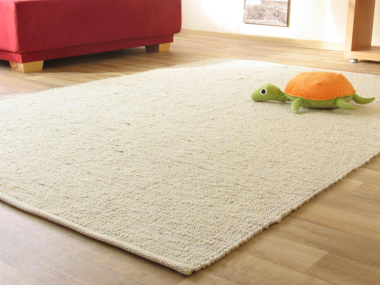 Handweb Teppich Leutasch Wohnzimmer