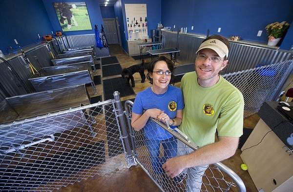 Michael And Livi Trull Have Opened Grateful Dog A Self Serve Dog