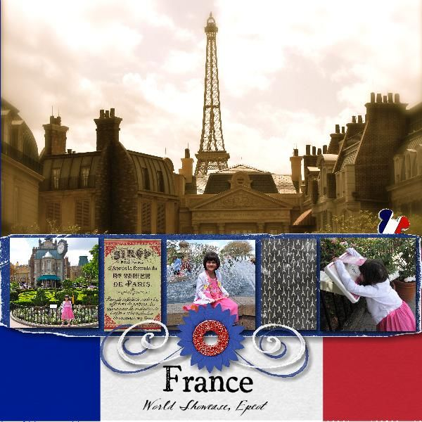 France Layouts (General) - Page 2 - MouseScrappers.com