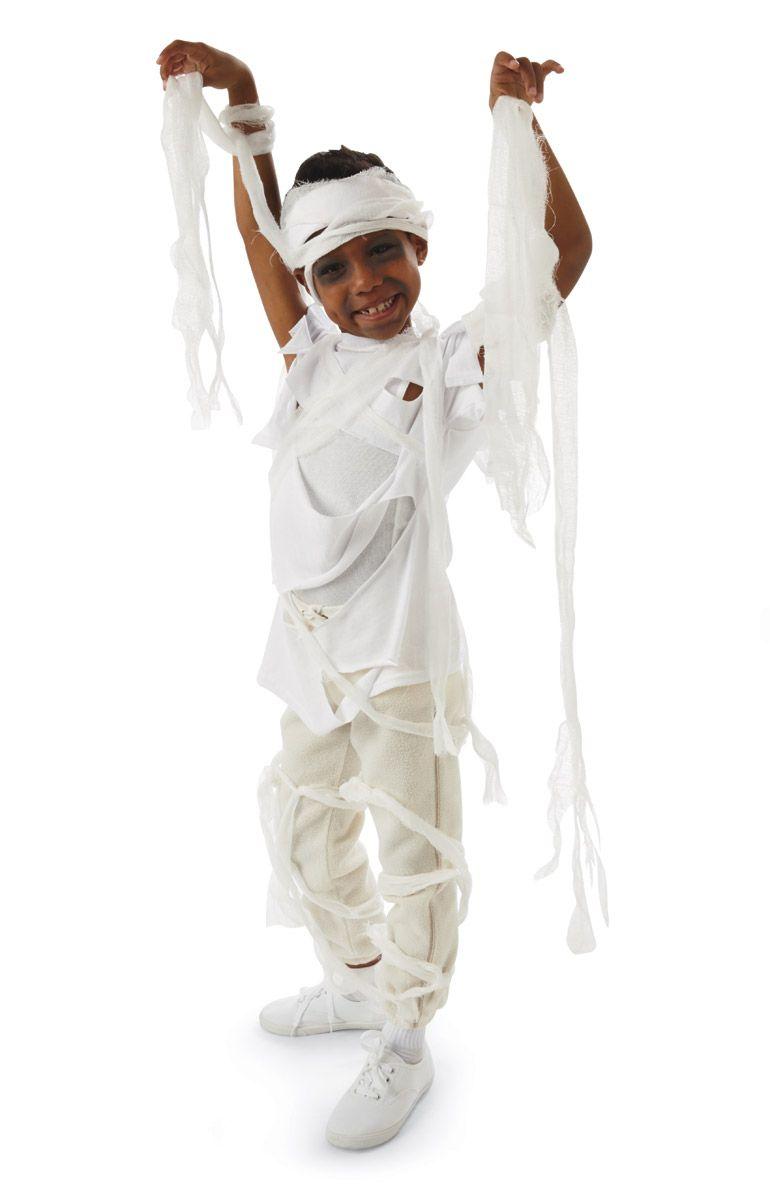 Glitter & Ghouls: Teen/Tween Mummy Halloween Costume