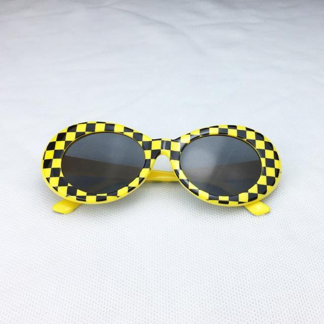 d4bd037921 Kurt Cobain Checkered Clout Goggles