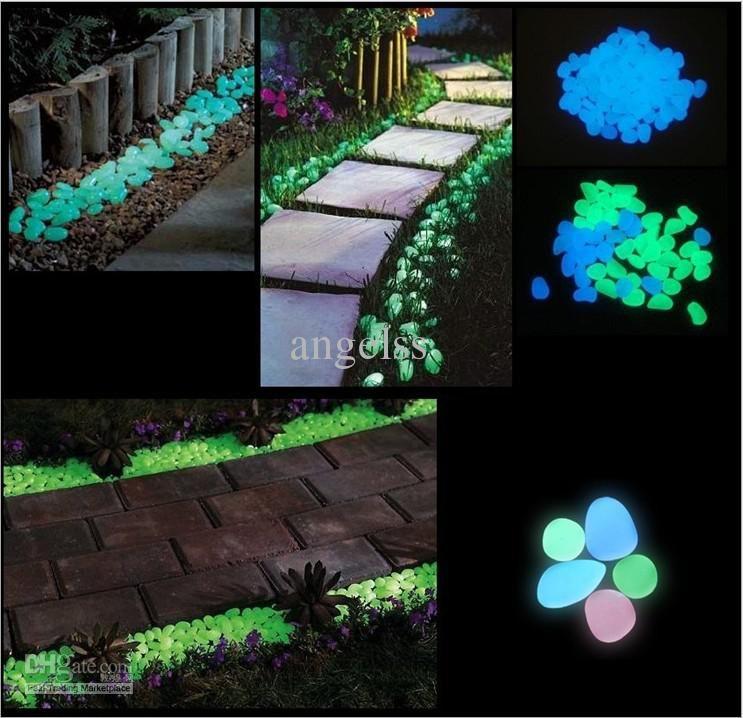 Glow In The Dark Stone Artificial Garden